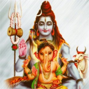Parvati enraged and Lord Shiva promised getting Ganesh back to life. The followers searched for a child's head facing north, but all they could find was an elephant's head. And that's how our Gajanan