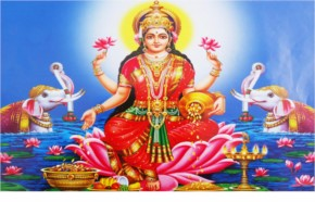 1. Goddess Lakshmi's Birthday:
