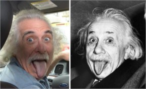 1 This Taxi Driver In NYC Looks Just Like Albert Einstein