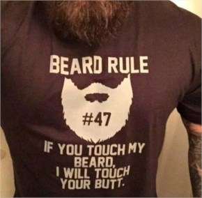 11. Beard Rules - Funny Pictures with Caption