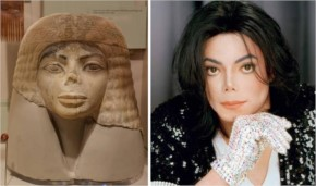 5 This 3,000 Year Old Egyptian Bust Looks Mildly Like Michael Jackson