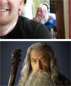 8 Went To The Bar And Saw Gandalf