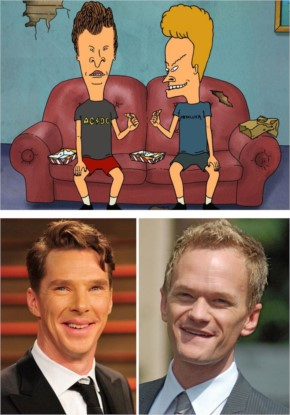 9 Neil Patrick Harris And Benedict Cumberbatch Look Like Beavis And Butt-Head