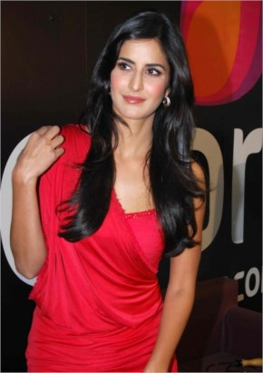 Awesome katrina kaif very hot in red dress