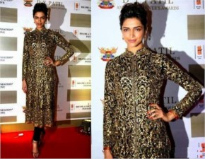 Deepika Padukone dressed for the awards