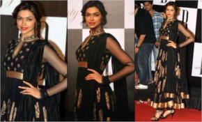Deepika Padukone gets ready wearing anarkali suits