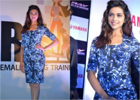 Deepika Padukone in Blue shine Bright