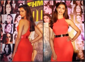 Deepika Padukone new look with a cool hairstyle