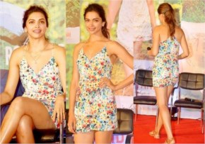 Deepika Padukone on a Promotion of Finding Fanny