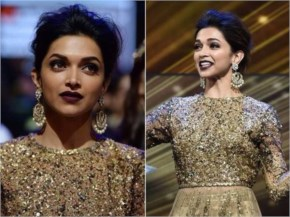 Deepika Padukone with a gliterring Face