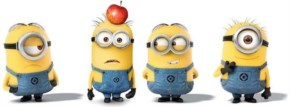 funny 4pcs despicable minion toys