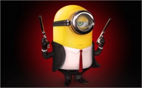 Funny Desirable minions wallpaper