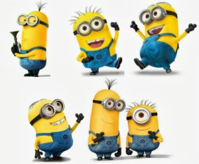 Funny Minion in billion cute look