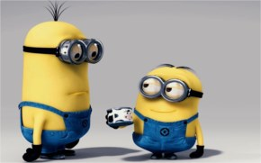 Funny Minions having thick Shake