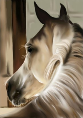 Horse painting 2