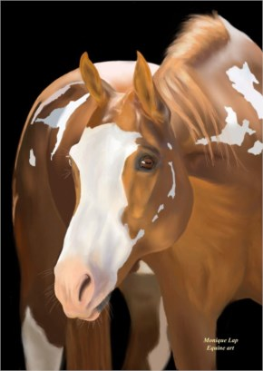 Horse painting 7