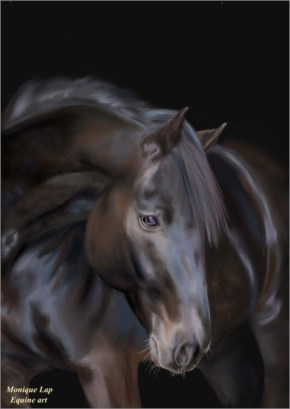 Horse painting 9