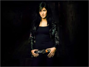 Katrina kaif in black party wear at a promotional photo shoot - laughspark.com