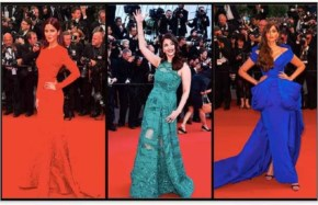Katrina kaif with Sonam Kapoor  and aishwarya rai at red carpet