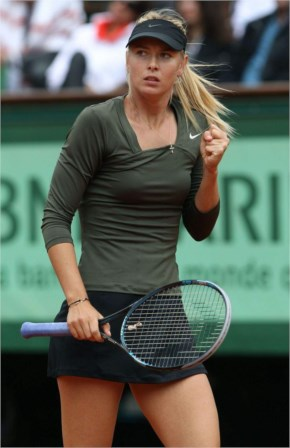 Maria Sharapova At 2014 Brisbane International