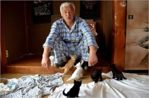 Naoto Matsumura is the only human brave enough to live in Fukushima's 12.5-mile exclusion zone