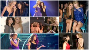 selena Gomez and Taylor Swift performs at live at billboard music awards las vegas