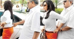 Sridevi 's husband worried about her outfit