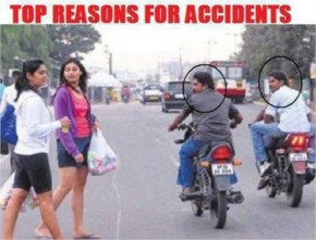 Top reasons for accidents in india