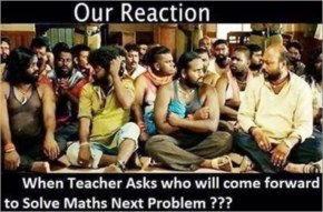 Who will come forward tp solve maths question