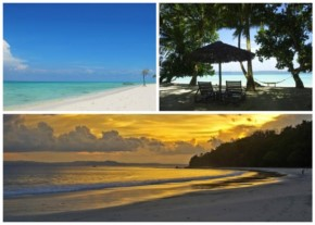 1. On a Secluded Island Beach at Andaman and Nicobar Islands