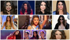 12 different look of Selena Gomez Bindi style which makes a new comeback in Hollywood
