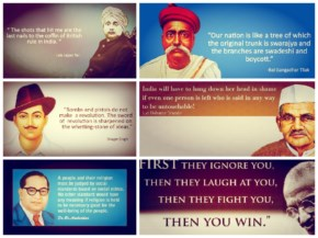 13 Inspiring Quotes of India's Freedom Fighters