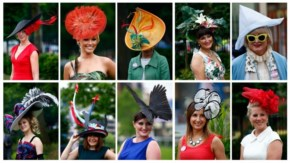14 Unusual Royal Funny Hat Collection