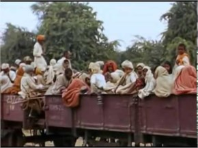 1947 Indian Independence and partition Rare color video clip