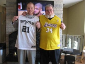 2. Duncan is a fan friendly basketball player.