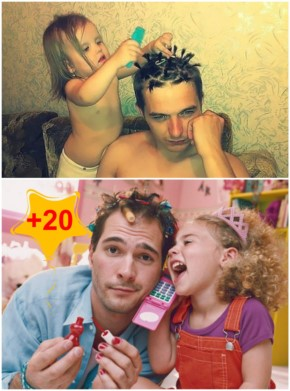 20+ Father-Daughter Parenting, Daughter makeover their dads