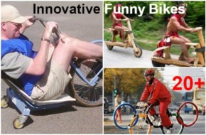 20+ Funny Bikes that actually works very well