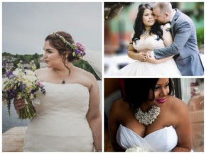 23 Beautiful Curvy Brides Who Are Slaying This Whole Wedding Thing