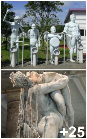 25+ Very strange and weird Statues you have ever seen