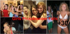 30+ Best Girls Photobomber that failed accidently
