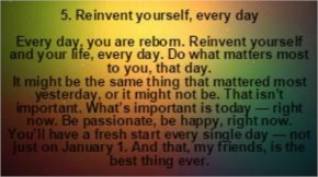 How to make the New Fresh Start this New Year