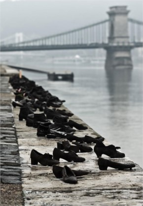 6.The Shoes On The Danube Bank, Budapest, Hungary