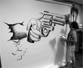 A Belgian Artist A Cool Pencil Artwork Pencil Drawing With Great 3d