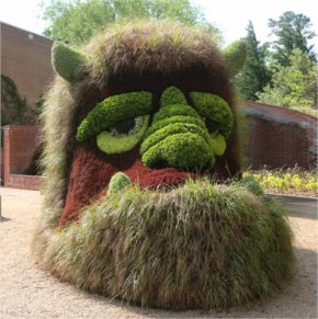 A New Kingdom of Plant Giants is a brand new outdoor exhibit at the Atlanta Botanical Garden