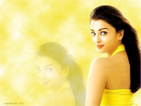 Aishwaria Rai looking gorgeous in yellow