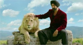 Akshay Kumar shot with a real Lion named 'Mufasa' for his movie 'Singh is Bliing'