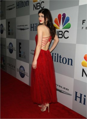 Some Red Hot Moments of Alexandra Daddario