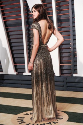 Alexandra Daddario in Vanity Fair Oscar Party 2015