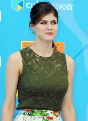Alexandra Daddario Percy Jackson Sea Monsters Premiere