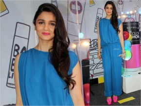 Alia Bhatt in Sky Blue Wear